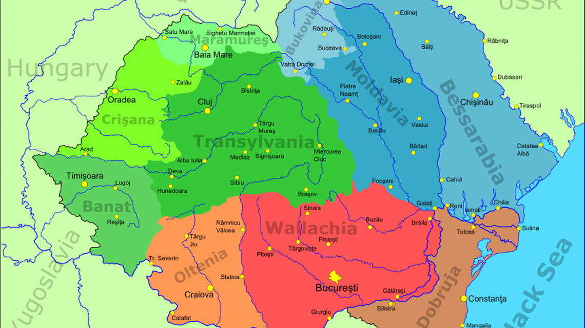 Transylvania and Bessarabia in the Romanian Mentality