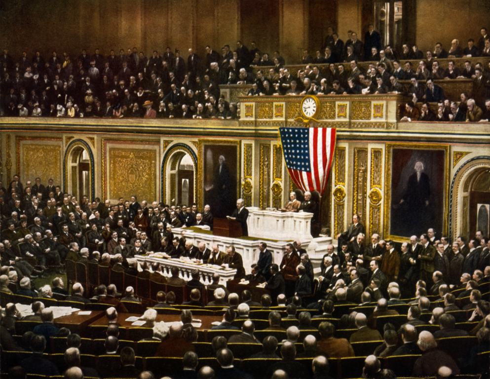 Woodrow Wilson's War Message to Congress