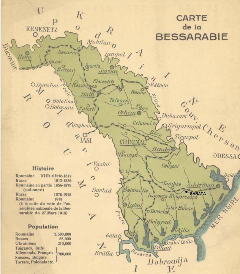 The road to self-determination of the Moldavian Democratic Republic