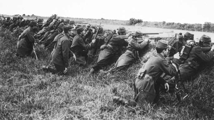 The 1914 Miraculous Battle of the Marne
