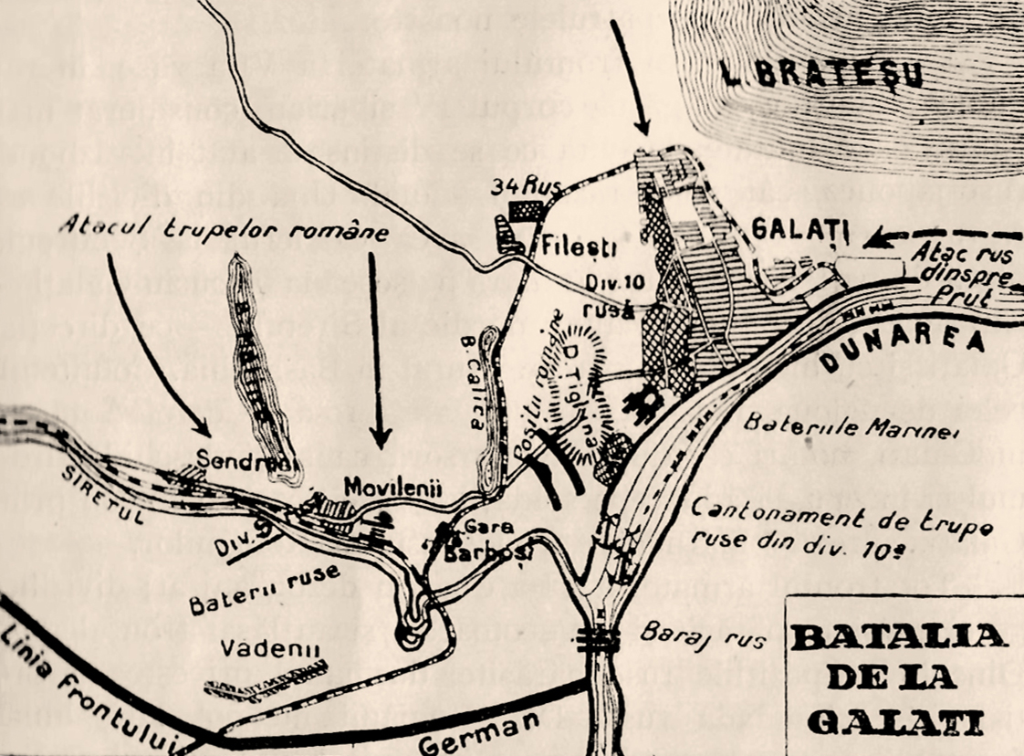 The Battle of Galati: a unique battle of The First World War