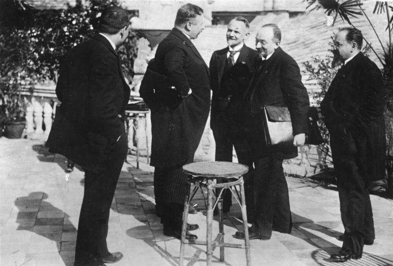 A German-Russian secret agreement: the Treaty of Rapallo