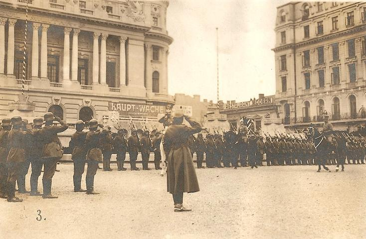 Bucharest, under the rules of occupation. The proclamation of the capital's prefect