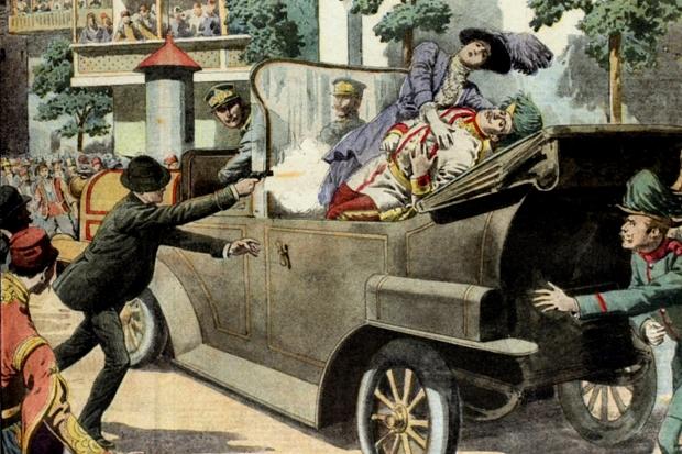 The spark for World War I – the Assassination of Archduke Franz Ferdinand