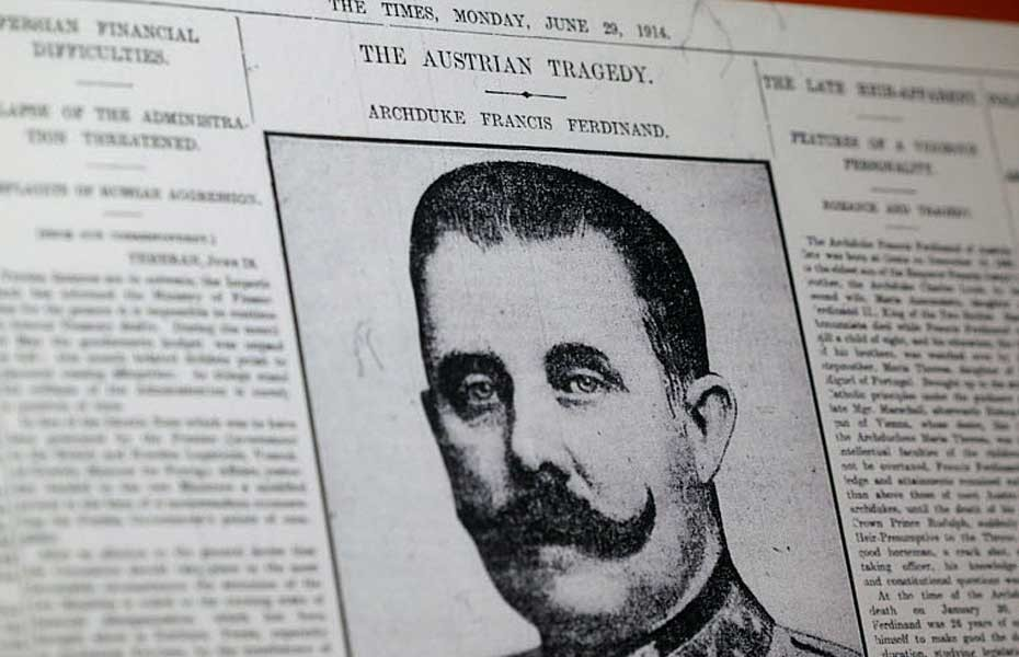 23 July, 1914: The Austro-Hungarian Ultimatum to the Kingdom of Serbia