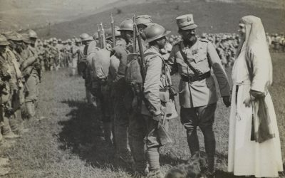 King Ferdinand, the leader of the Romanian Front and of the Allied armies