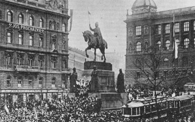 The end of the Great War brought about the proclamation of the Czechoslovak Republic