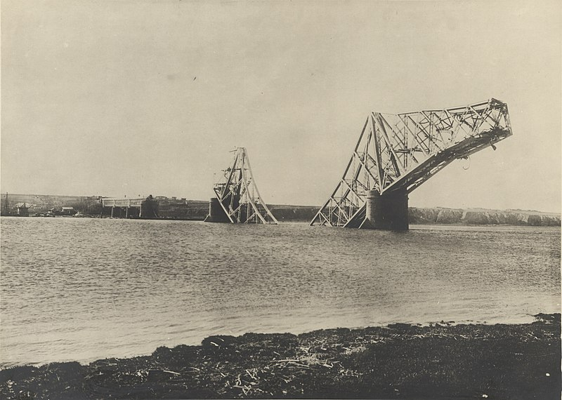 The Cernavodă Bridge, one step away from being destroyed during the First World War