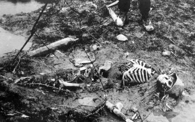 Shocking images from Romanian front in First World War