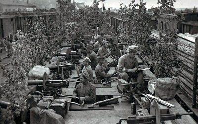 The revolt of the Czechoslovak Legion against the Bolsheviks