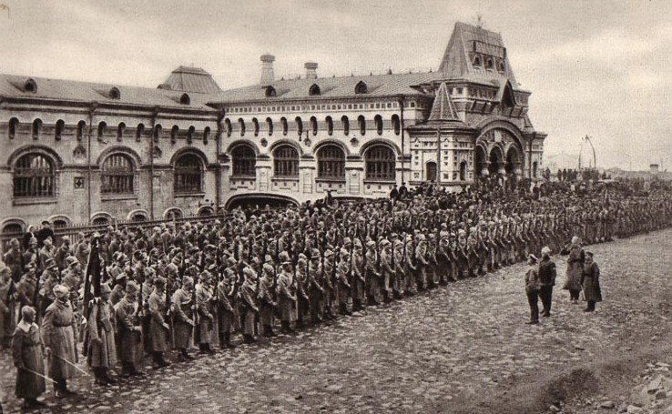 The Czechoslovak involvement in the Russian Civil War
