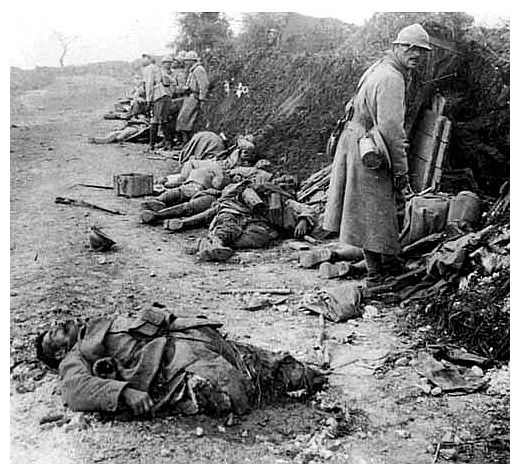 Romania, the third highest number of casualties in the First World War