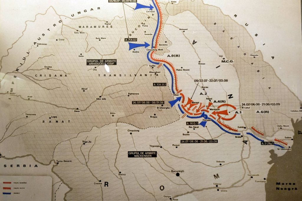 The Battles Of The Romanian Front In The Summer Of 1917 And Their