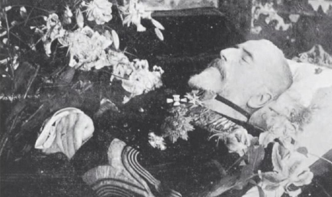 The death of King Carol I of Romania as seen through the eyes of the Central Powers