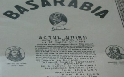 The recognition of the union of Bessarabia with Romania
