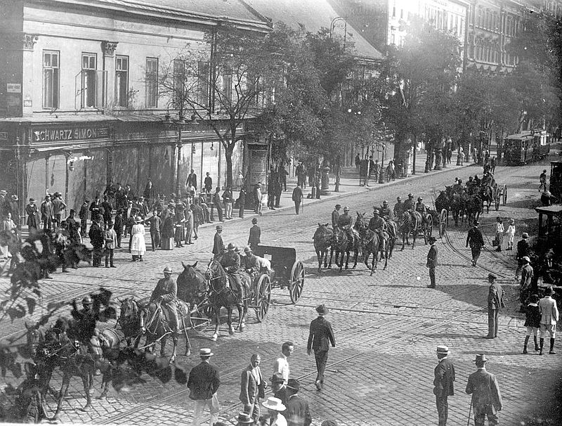 The intervention of the Romanian army in Hungary: The collapse of the Bolshevik regime in Budapest