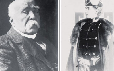 "Queen Marie, face to face with Clemenceau: ""Transylvania up to the Tisa and all of Banat"""