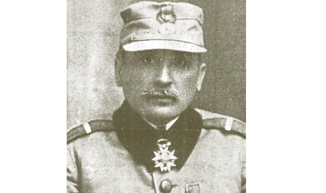 Constantin Scărișoreanu, the first Romanian officer advanced to the rank of general on the battlefield