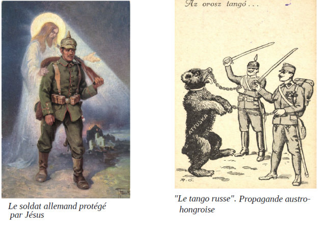 German propaganda in occupied Romania (1916-1918)