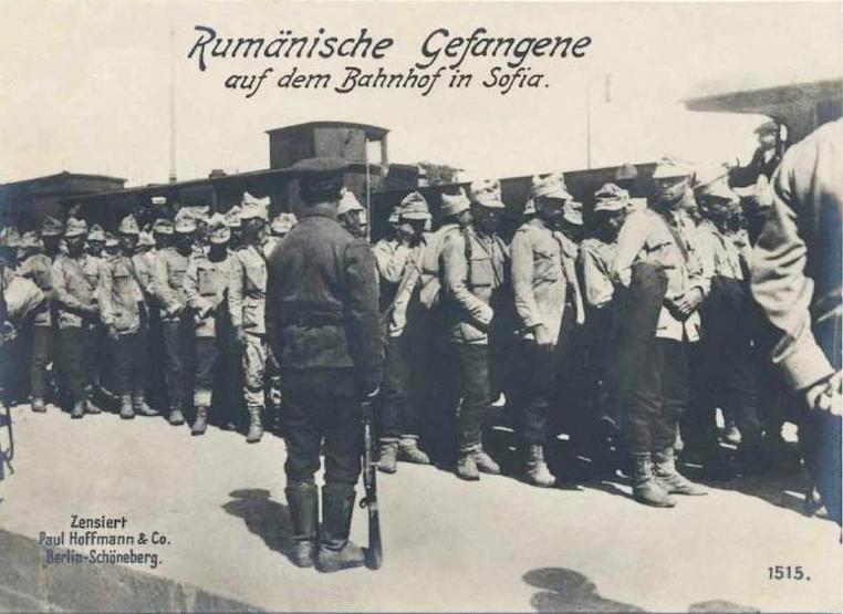 The hardships of Romanian prisoners in Bulgaria during the First World War