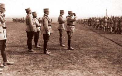 French General Henri Berthelot calls the Romanian army back into battle