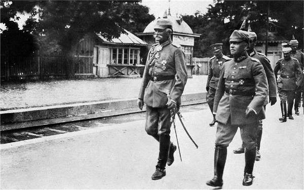 "Mackensen: ""If Romania joins the Entente once more…then the Balkans and maybe the whole war is lost to us…"""