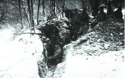 What were the risks for Romania if the war continued in the winter of 1917-1918?