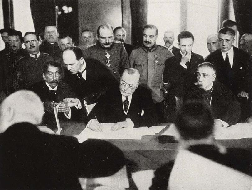 The unsuccessful attempt to renegotiate the Treaty of Bucharest (1918)