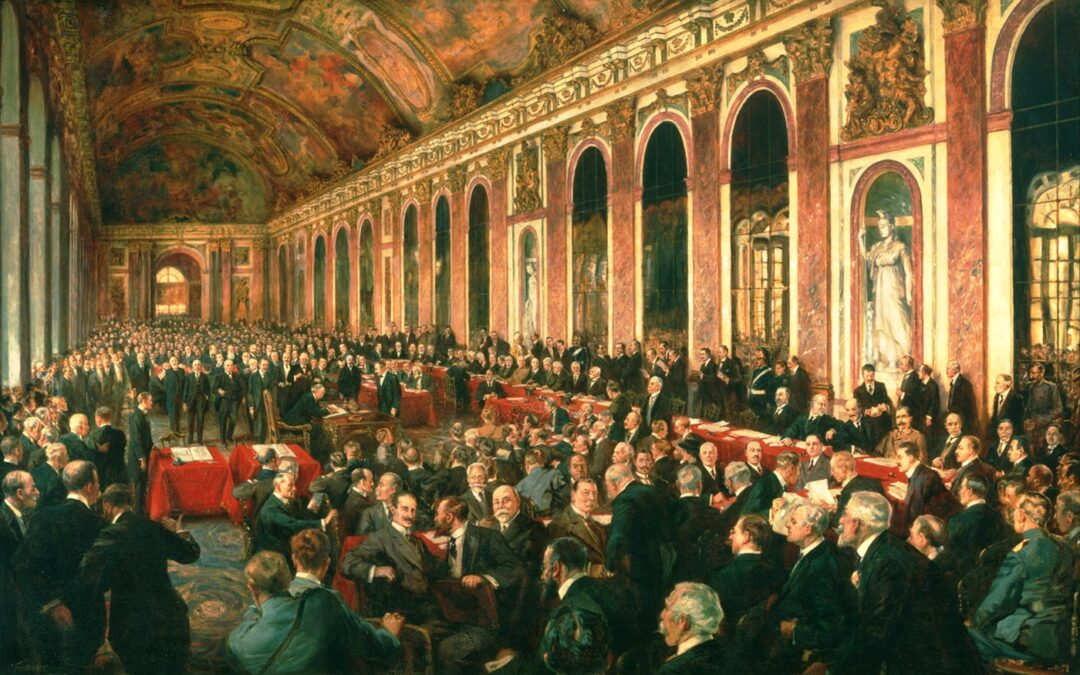 "Treaty of Versailles – ""peace without victory"" and German humiliation"
