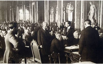 Romania, dissatisfied with the way negotiations were handled at the 1919 Paris Peace Conference